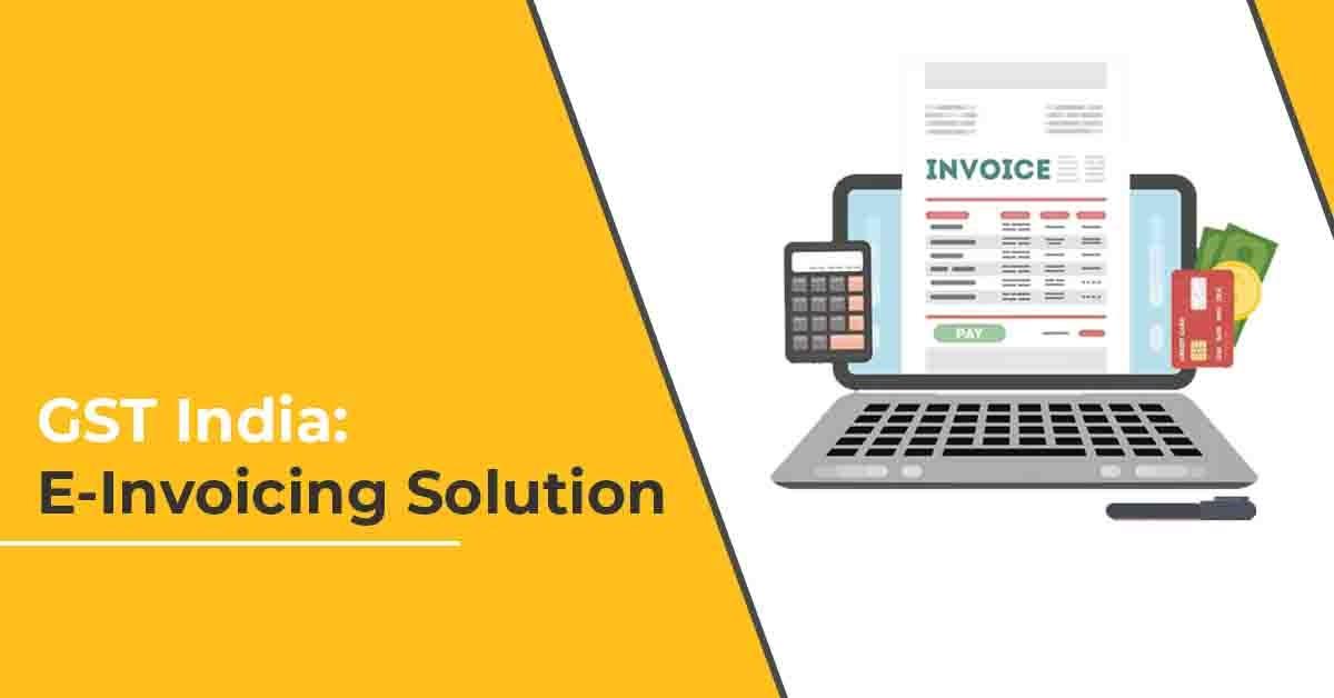 GST India-E Invoicing Solution