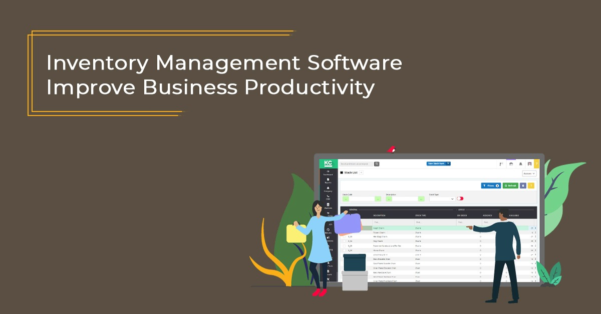 Inventory Management Software- Improve Business Productivity